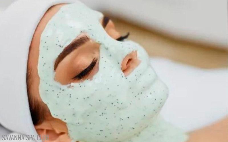 Нанесена альгінатна маска