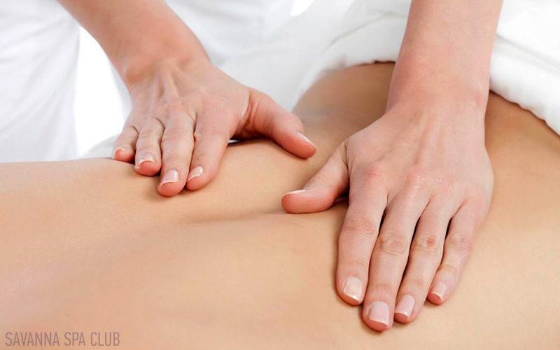 масаж спини руками