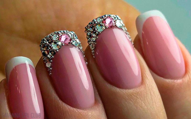 дизайн нігтів, френч