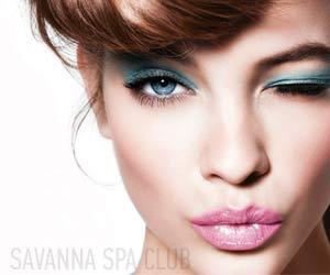 макіяж, візаж на обличчі виконаний якісною косметикою