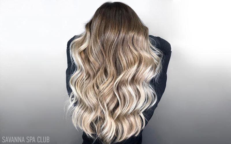 омбре на всю довжину волосся
