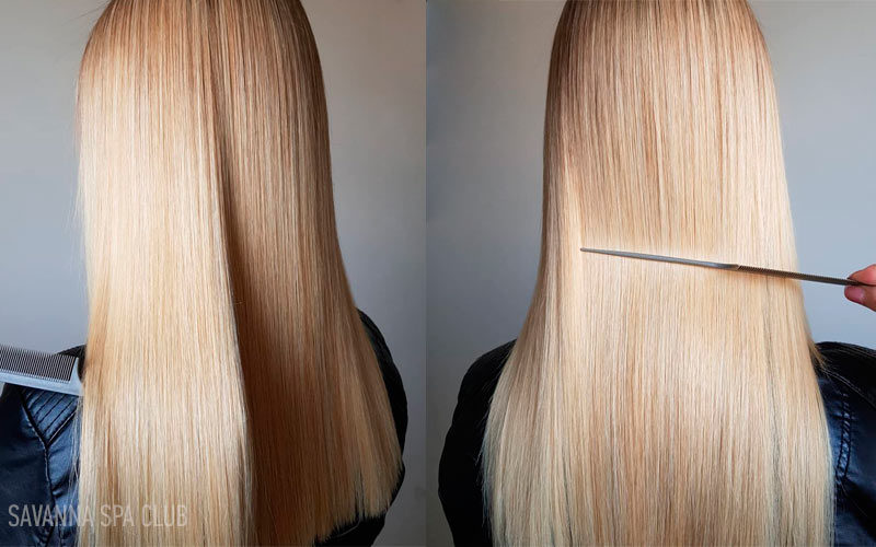 кератин для блондинки