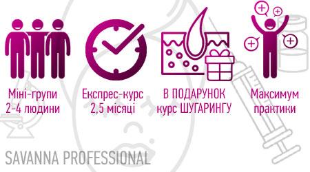 переваги навчання на косметолога в SAVANNA
