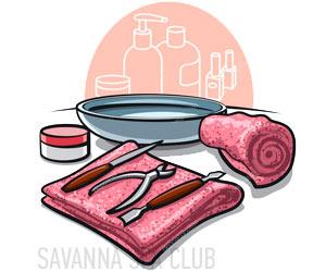 інструменти для манікюру в салоні краси