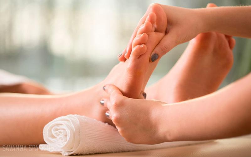 спа масаж ступнів