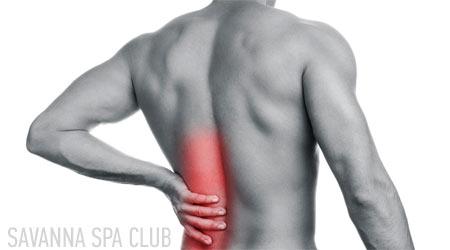 масаж спини від болю в спині
