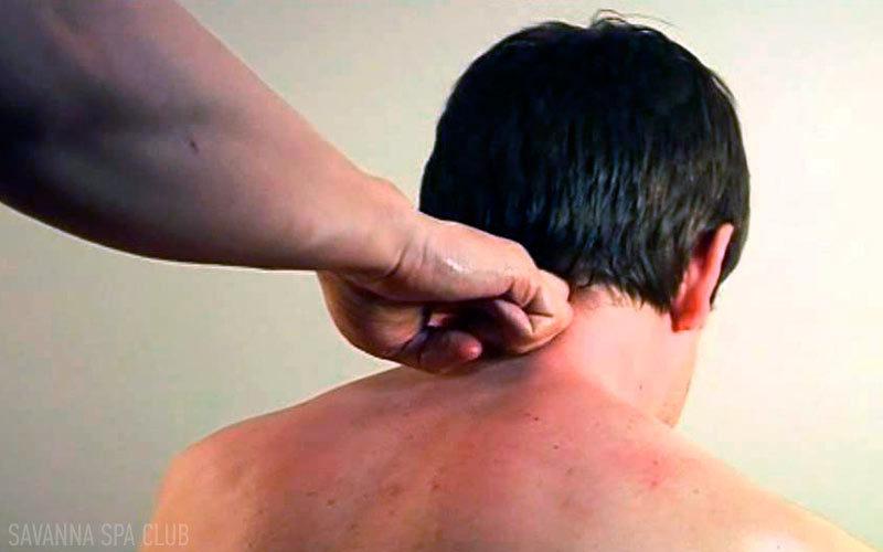 масаж шиї