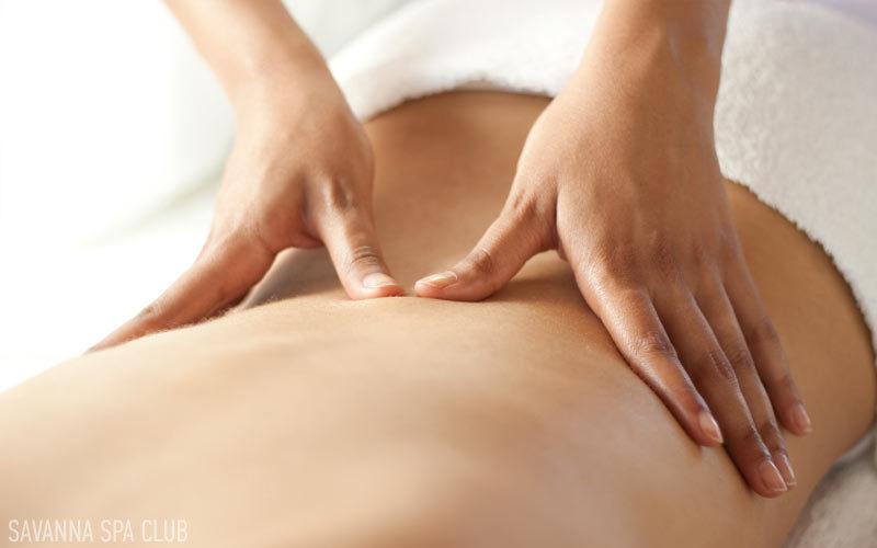 масаж двома руками