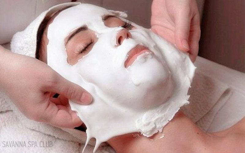 маска для обличчя гіпсова