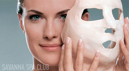 маска обличчя гіпсова