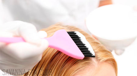 фарбування волосся - процес нанесення фарби