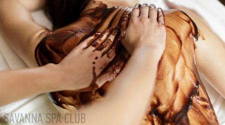 шоколадний масаж тіла в салоні