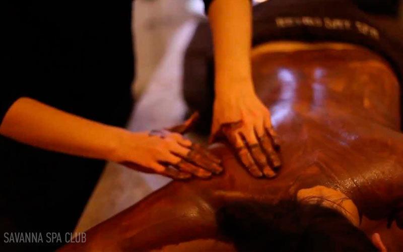 шоколадний масаж