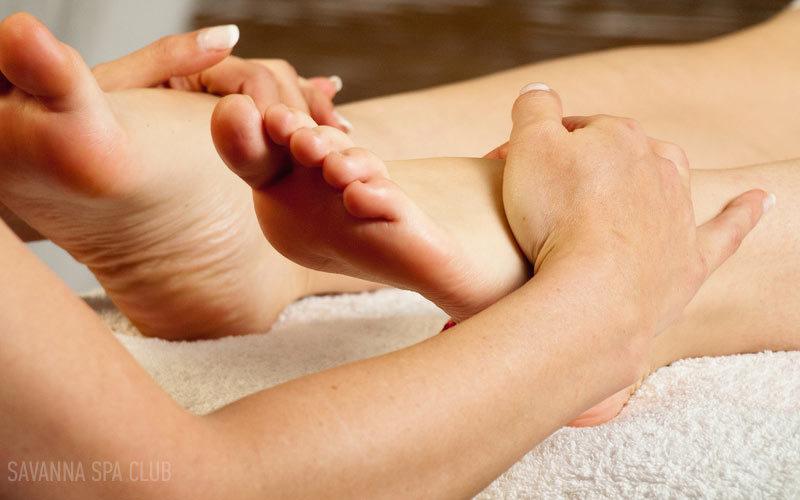 спа масаж ніг