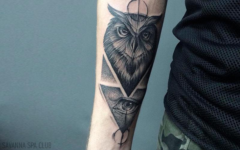 татуювання сови