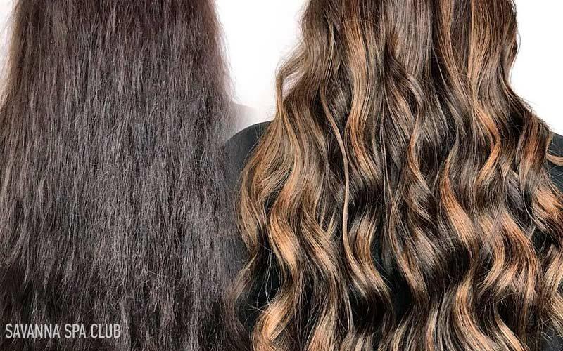 фарбування волосся балаяж