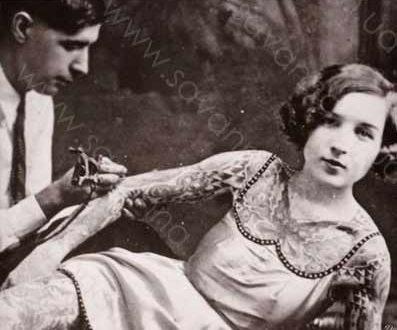історія татуювання, тату для дівчини