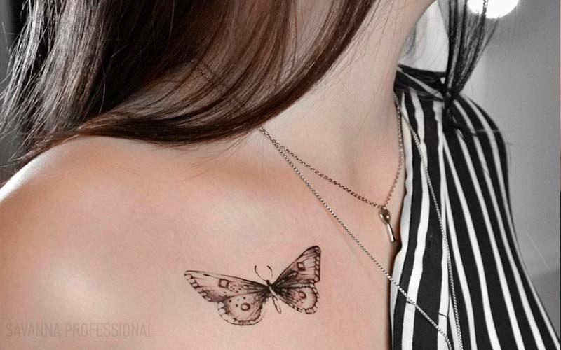 тату - метелик на тілі тату робота котру студенти виконуватимуть