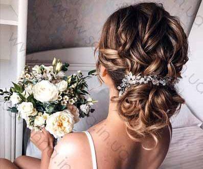 весільна зачіска в салоні краси